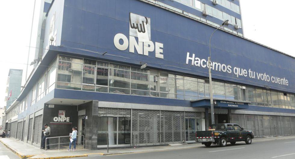 El órgano electoral proporcionó a El Comercio la lista de candidatos que, hasta la semana pasada, cumplieron con acreditar a sus responsables de finanzas.