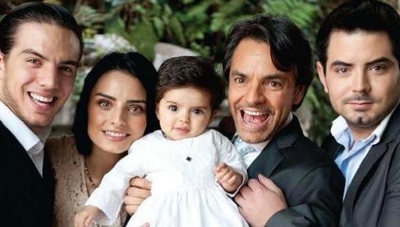 Eueginio Derbez tiene cuatro hijos: Aislinn, Vadhir, José Eduardo y Aitana (Foto: Instagram/ Eugenio Derbez)