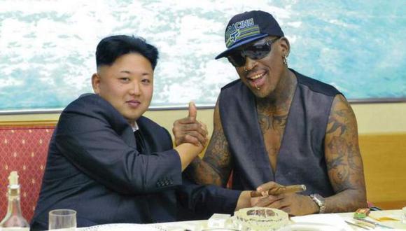 ¿Cómo estos dos personajes polémicos se hicieron grandes amigos? En torno a Rodman y Jong-Un hay una historia insólita e interesante, que se remonta a siete años atrás (Foto: AFP)