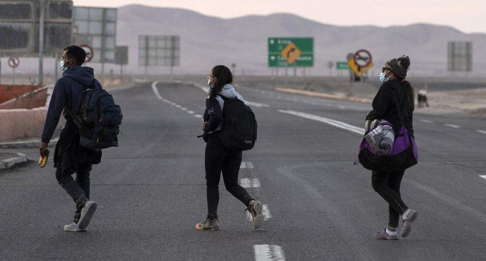 A Venezuelan migrant dies while crossing the inhospitable border between Chile and Bolivia