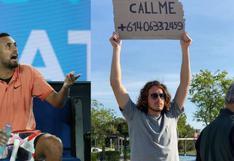 La broma de Tsitsipas a Kyrgios: publicó en Instagram el número telefónico del australiano | FOTO