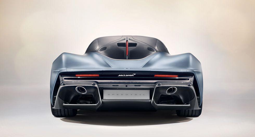 El McLaren Speedtail se reveló a sus futuros propietarios en un evento privado en Londres. (Foto: McLaren)