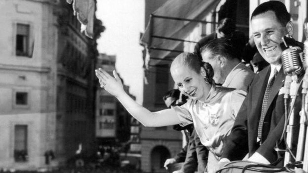 Se dice que no existiría Perón sin Evita. Y que no existiría Evita sin Perón. (Foto: AFP)