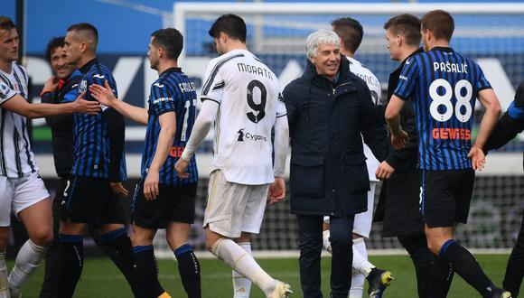Juventus perdió ante Atalanta con un gol sobre el final del encuentro | Foto: AFP