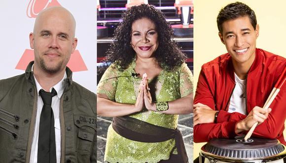 Gian Marco, Eva Ayllón y Tony Succar. (Foto: Agenciaç)