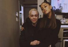 Ariana Grande defiende a Pete Davidson de burlas por su aspecto | FOTOS