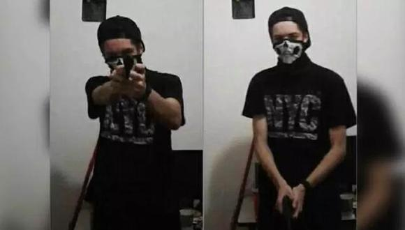 Guilherme Taucci Monteiro, uno de los autores de la masacre en el colegio Raúl Brasil de Sao Paulo, publicó unas fotos en Facebook horas antes del ataque.
