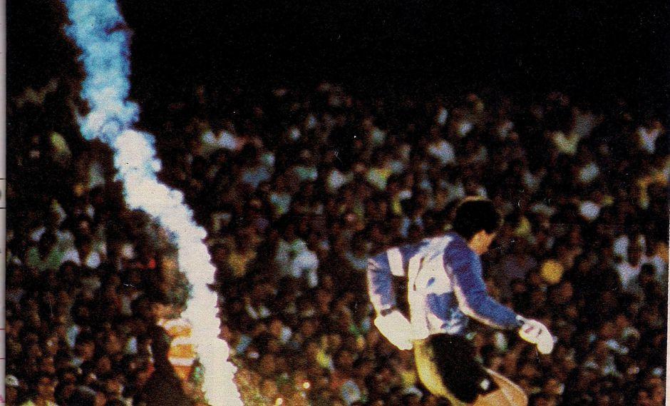 """""""El césped del Maracaná fue escenario y testigo. Dos de los más célebres sucesos de la historia del fútbol tuvieron lugar un domingo de sol en esa alfombra verde: el gol de Gigghia en 1950, acaso el más inesperado y glorioso de todos los tiempos"""""""