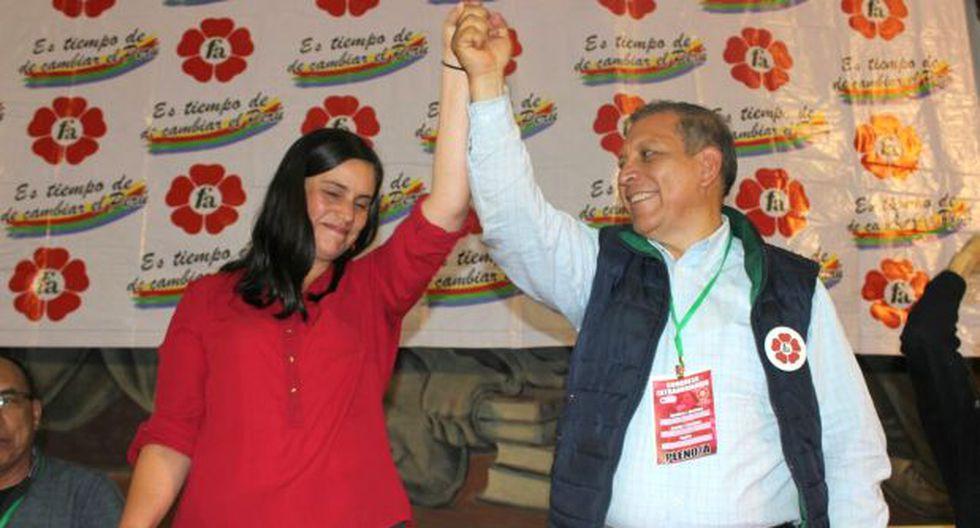 Marco Arana irá en plancha presidencial de Verónika Mendoza