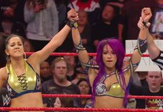 WWE RAW: Sasha Banks y Bayley vencieron a Ronda Rousey y Natalya, repasa todas las luchas del evento | VIDEO