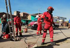 Cusco: equipo de rescate continúa búsqueda de menor de 17 años que cayó a un buzón