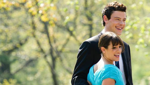 """Cory Monteith y Lea Michele se conocieron en el set de """"Glee"""" y se comprometieron en matrimonio. Él murió en el 2013 tras una sobredósis. (Foto: AP)"""