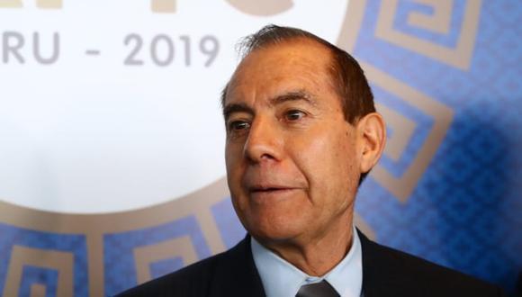 Ministro de Defensa desestima las voces que hablan de golpe de Estado tras la disolución del Congreso (Foto: Alessandro Currarino/GEC)