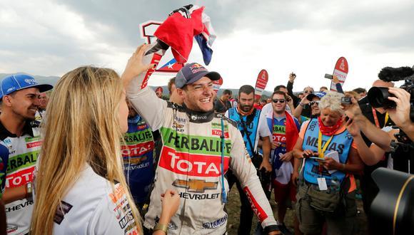 Dakar 2018: Podio sudamericano para una categoría sudamericana. (Foto: AFP)