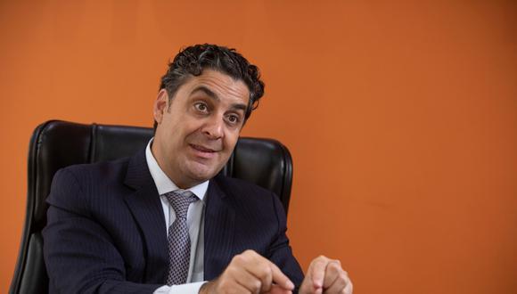 El titular del Indecopi, Ivo Gagliuffi, es candidato a director general  de la OMPI de las Naciones Unidas. (Foto: José Rojas / El Comercio)