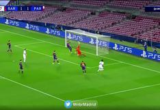 Barcelona vs. PSG: el espectacular manotazo de Ter Stegen para evitar un golazo de los parisinos   VIDEO