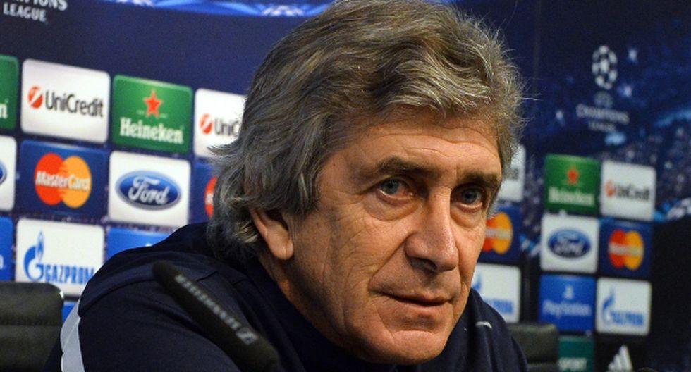 """Pellegrini se defiende: """"No es mi estilo criticar al árbitro"""""""