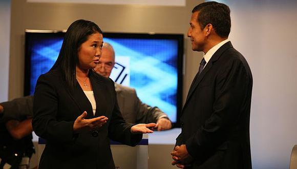 """Keiko a Humala: """"Su afán por acusar a sus opositores lo nubla"""""""