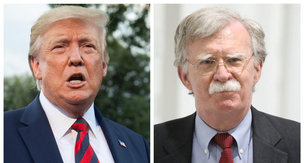 El Gobierno de Donald Trump abrió este martes el litigio contra John Bolton para evitar que el libro vea la luz este 23 de junio. (Foto: AFP)