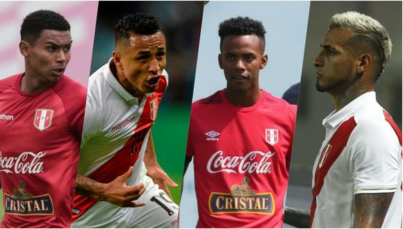 Marcos López, Nilson Loyola y Yoshimar Yotún son algunos de los candidatos para jugar por la banda izquierda, si Miguel Trauco no llega. (Foto: Composición GEC)