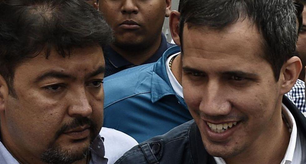 Roberto Marrero, aliado del presidente encargado de Venezuela, Juan Guaidó. Foto: AFP