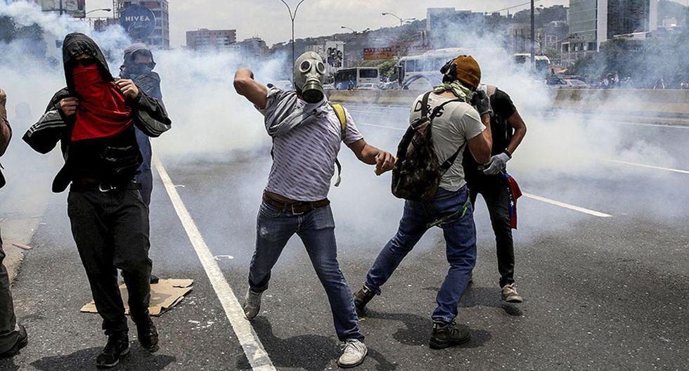 Venezuela vive su quinta protesta del mes contra Maduro - 4