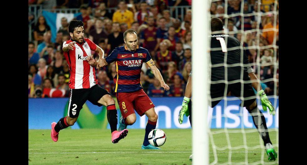 Barcelona: la dura marca del Athletic para detener a culés - 12