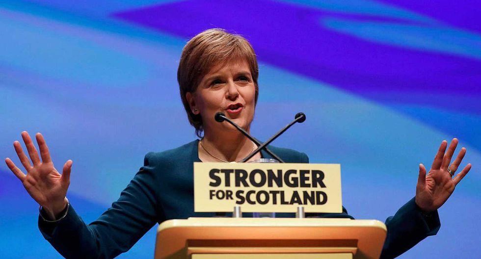 Nicola Sturgeon, ministra principal de Escocia. (Foto: Reuters)