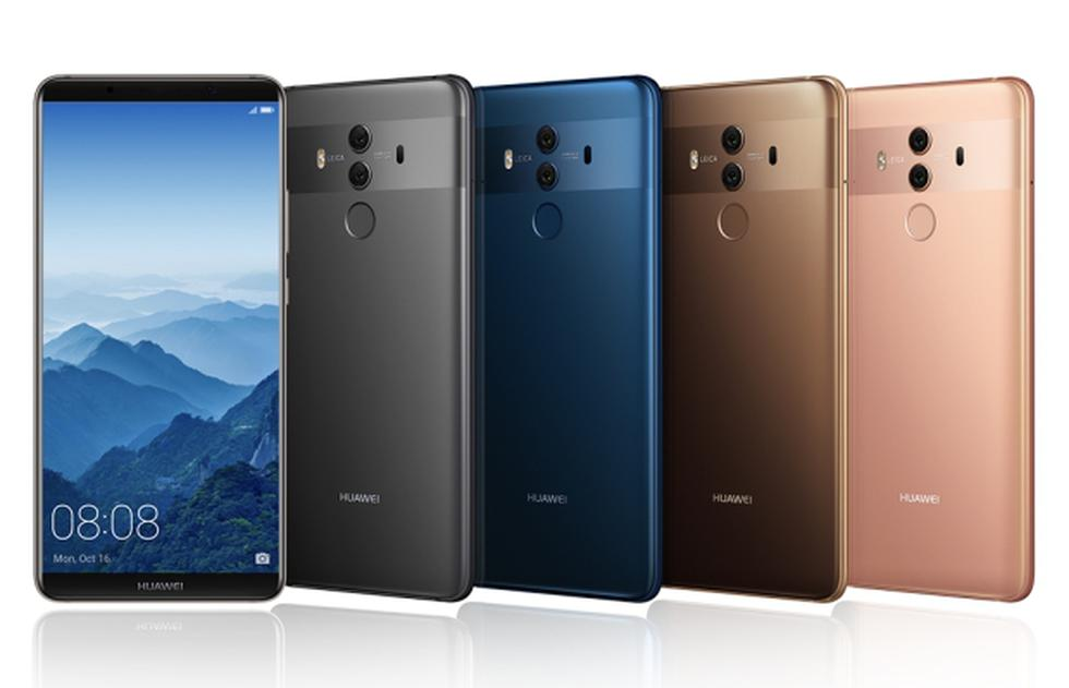 El smartphone Mate 10 Pro fue la apuesta de Huawei para el 2017 y le resultó para convertirse en uno de los dispositivos móviles del año que acaba de terminar.