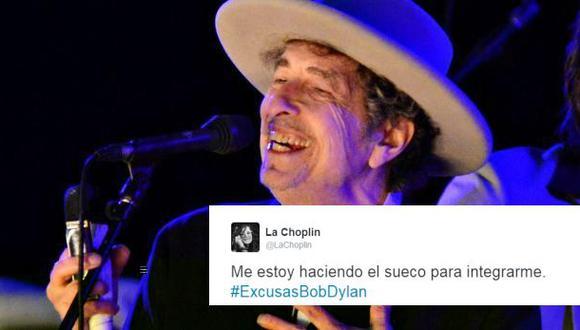 #ExcusasBobDylan: silencio del cantante inquieta en Twitter