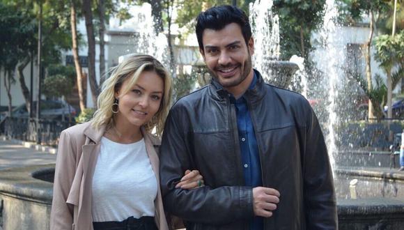 """Angelique Boyer habla sobre una sorpresa de su telenovela """"Imperio de Mentiras"""" al lado de Andrés Palacios. (Instagram: @imperiodementirasof)."""