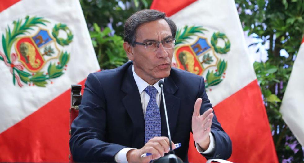 El presidente Martín Vizcarra informó de las medidas del gobierno para frenar el coronavirus. (Foto: GEC)