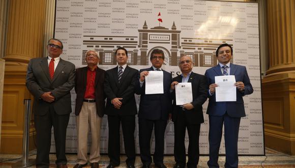 La bancada Concertación Parlamentaria está integrada por seis legislador. (Foto: Mario Zapata / GEC / Video: Canal).