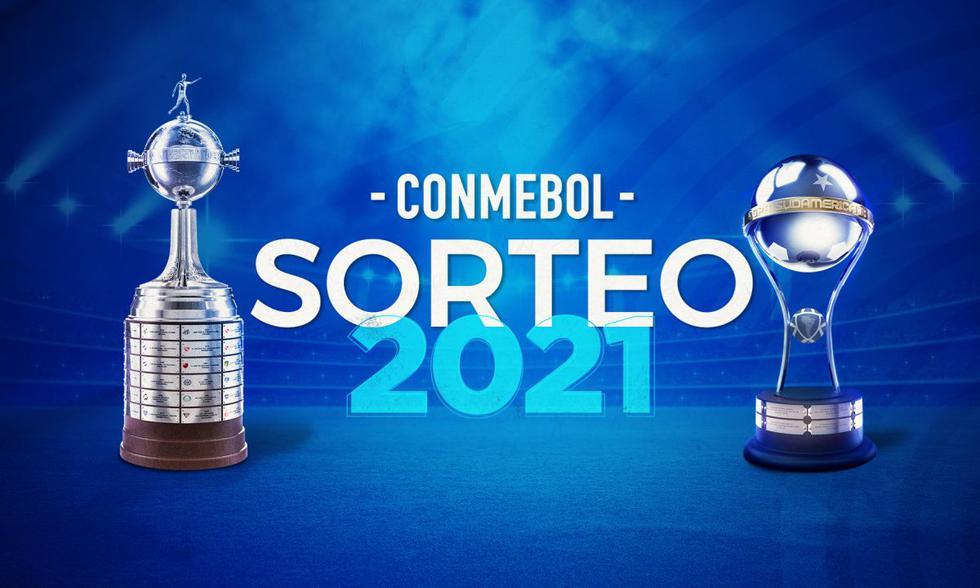 Sigue en vivo el sorteo del fixture de la fase de grupos de la Copa Libertadores y Sudamericana. (Foto: Conmebol)