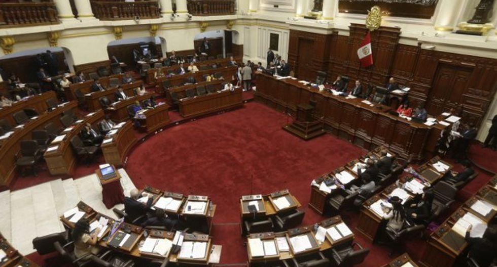 Por unanimidad, el pleno del Congreso acordó solicitar al presidente Martín Vizcarra que pida a España que expulse a César Hinostroza. (Foto: El Comercio)