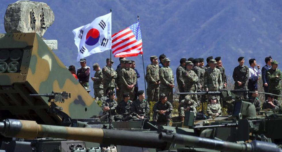 Estados Unidos y Corea del Sur pondrán fin a sus grandes ejercicios militares anuales. (AFP)