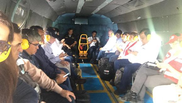 Loreto: lluvias y nubosidad impiden visita de ministros de Estado a comunidades
