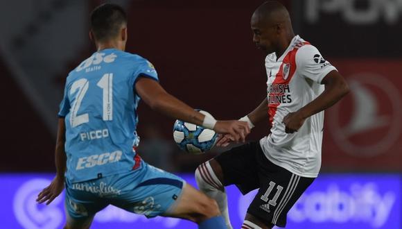 River Plate vs. Arsenal se enfrentaron en partido por la Copa Diego Maradona. (Foto: @RiverPlate)