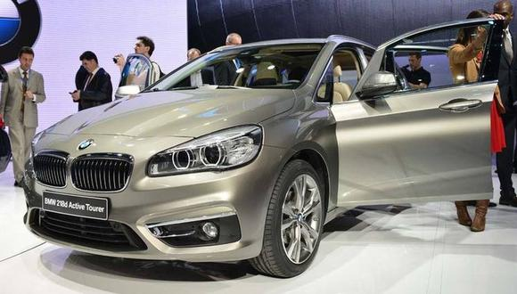 La marca de lujo BMW sacó ventaja en Perú. En la foto el Serie 2 Active Tourer. (Foto: Geneva International Motor Show)