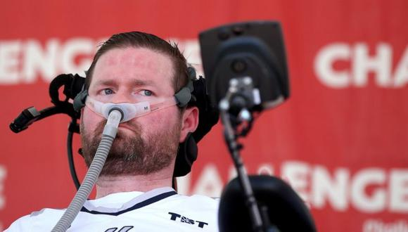 Patrick Quinn fue diagnosticado con ELA en 2013. (Getty Images).
