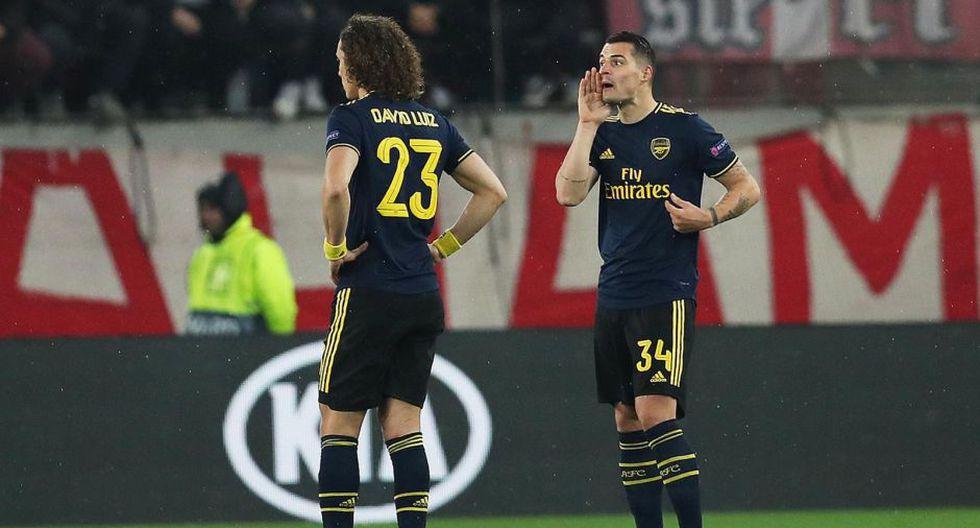 Estas fueron las mejores fotografías que dejó el encuentro entre Arsenal y Olympiacos por UEFA Europa League.