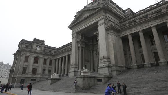 El Palacio de Justicia, en una imagen de archivo del 2018 (Foto: Anthony Niño de Guzmán/GEC).