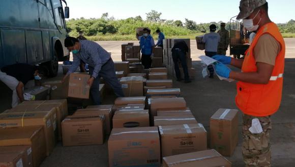 Madre de Dios: 35 toneladas de medicinas e insumos fueron distribuidos durante la pandemia (Foto: EsSalud)