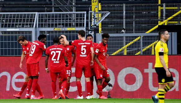 Joshua Kimmich convirtió el 1-0 a favor del Bayern Múnich | Foto: Reuters