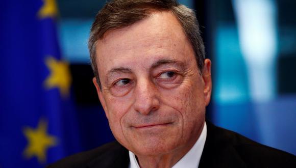El presidente del Banco Central Europeo (BCE), Mario Draghi. (Foto: Reuters)