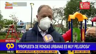 """Jorge Muñoz: """"Propuesta de ronderos es muy peligrosa"""""""