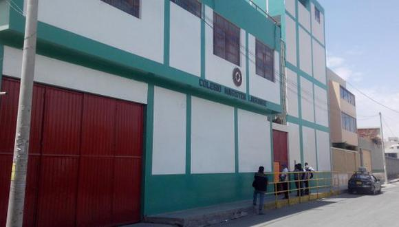 Arequipa: alumna intentó suicidarse en movilidad escolar