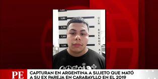 Capturan en Argentina a sujeto que asesinó a la madre de su hija