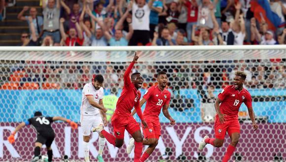 José Luis Rodríguez abrió el marcador para Panamá ante Túnez. (Foto: Reuters)