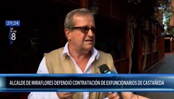 El alcalde de Miraflores, Luis Molina, remarcó que no investigará la gestión de su antecesor, Jorge Muñoz. (Foto: Canal N)